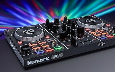 Numark Party Mix PartyMix DJ Controller with Built In Light Show