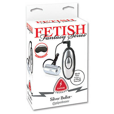 Kit Shock Therapy Fetish Serie Fantasy Silver Bullet Bondage XXX
