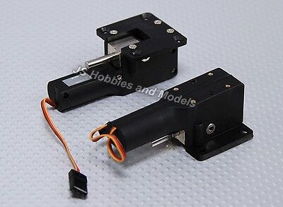 RC Model Plane - Servoless Retract with Metal Trunnion 33mm x 35mm Mount (2pc)