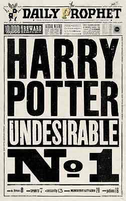 """Harry Potter - The Daily Prophet (11"""" x 17"""") Collector's Poster Print - B2G1F"""