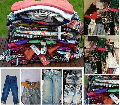 70 Ladies Items, All Grade A Clothes, High St Brands, Dresses Tops, Skirts Etc