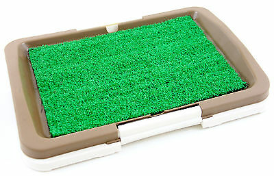 "Puppy Potty Trainer Indoor Grass Training Patch - 3 Layers  - 18"" x 13"""