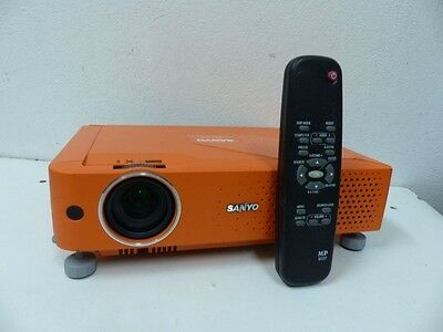 Home Cinema Sanyo Plc-Xe31 Hdmi Lcd Projector With Remote 5000 Hour Lamp