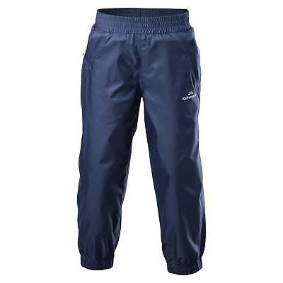 Kathmandu Pocket-it Kids Girls Boys Durable Water Resistant Pants Rain Trousers