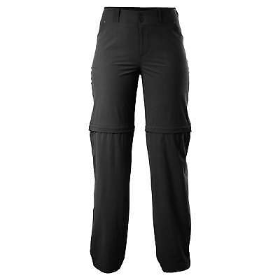 Kathmandu Semsa Womens Zip Off Shorts Lightweight Travel Pants Trousers v2 Black
