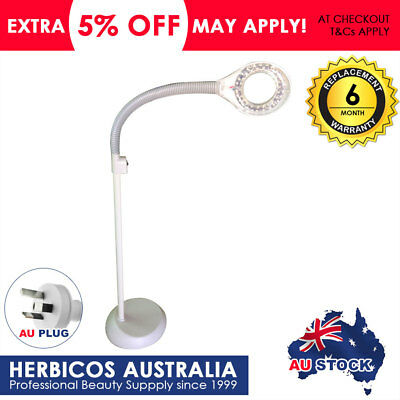 LED Magnifying Lamp Floor Stand Beauty Facial Salon Tatoo