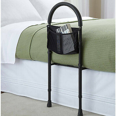 New Safety Bar Rail for Bed up to Queen Size Mobility Bedding Handle Assist Grip