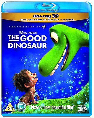 The Good Dinosaur [Blu-ray 3D] [2015] 8717418475192