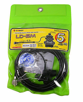 Comet LD-5M Trunk lip mount with low loss cable assembly