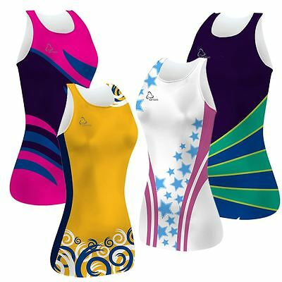 Sublimated Netball Team Kit - 10  dresses.  Many designs & colours available.