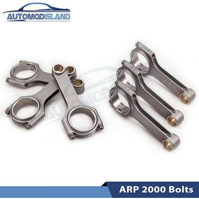 Connecting Rod Rods for VW Golf Corrado III 2.8L 2.9L VR6 Conrod 164MM aid