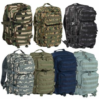 Mil-Tec Molle Assault Pack Us Military Army Combat Patrol Rucksack Backpack