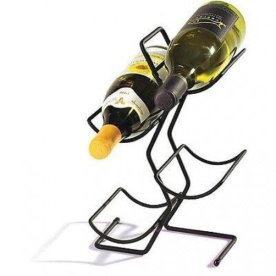 Spectrum 49010CAT 4 Bottle Wine Tree - Black. Shipping Included