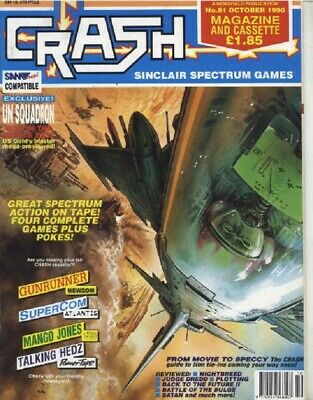 CRASH magazine for Sinclair ZX SPECTRUM ALL 98 ISSUES! DVD 80s games retro