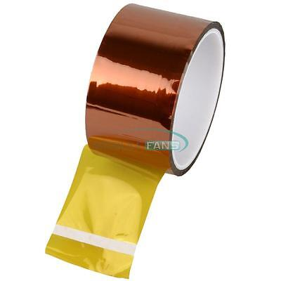 50mm 5cm x 30M Kapton Tape Sticky High Temperature Heat Resistant Polyimide MF