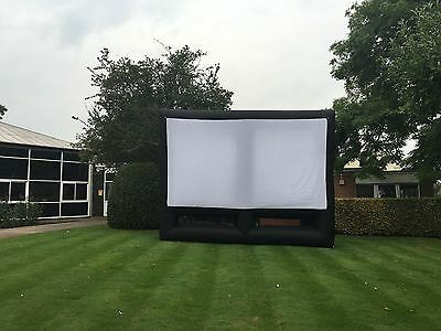 Giant Inflatiable Outdoor Cinema Screen (5.4mWx4.2mH)
