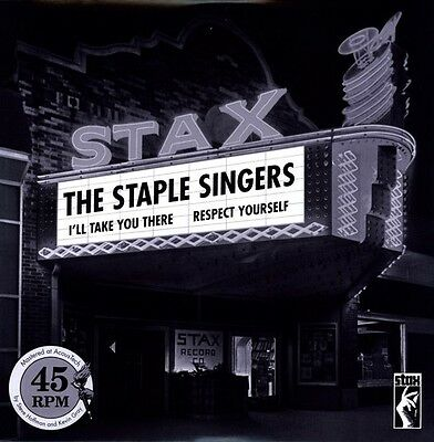 Respect Yourself/I'll Take You There - Staple Singers (2009, Vinyl NEW)