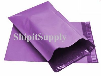 1-1000 10x13 ( Purple ) Color Poly Mailers Shipping Boutique Bags Fast Shipping