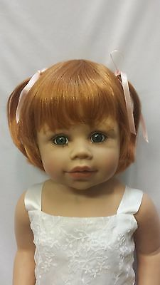 "NWT Monique Madeline Carrot Doll Wig 16-17"" fits Masterpiece Doll(WIG ONLY"