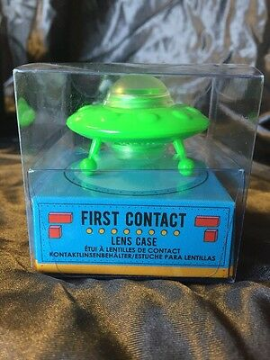 Novelty First Contact UFO Contact Lens Case