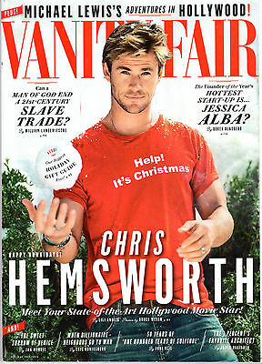 Vanity Fair Magazine   Chris Hemsworth   # 665 Holiday 2015/2016