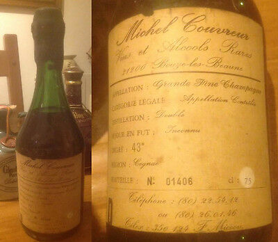 Extremely Rare Cognac Michel Couvrer 75 Cl 43% Nr.1406