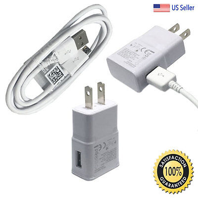 for Samsung Galaxy S7 Edge S6 Note 5 Fast Rapid Wall Charger+USB Charging Cable