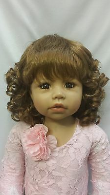 """NWT Monique Angelica Auburn Doll Wig 17-18"""" fits Masterpiece Doll(WIG ONLY)"""