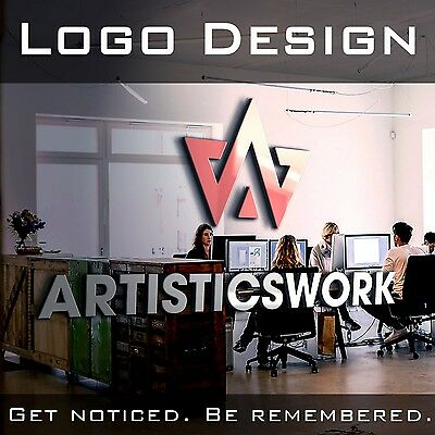 Professional Logo Design Service - Unlimited Revisions - Vector File