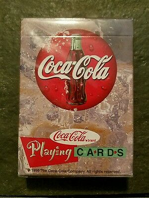Coca Cola Playing Cards 1998 Unopened