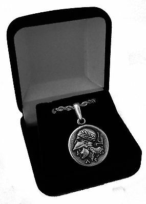 Percy Jackson Necklace, ATHENA and Pegasus, Annabeth's Mother, Pend/Chain 43-S • CAD $21.30