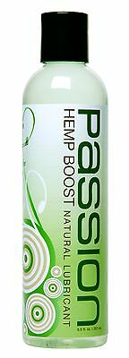 Passion Lubes Hemp Natural Water-Based Lubricant 8.5 Fluid Ounce