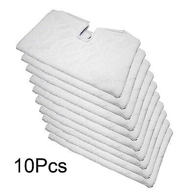 Fushing 10Pcs Microfiber Replacement Cleaning Pads for Shark Steam Pocket Mop...