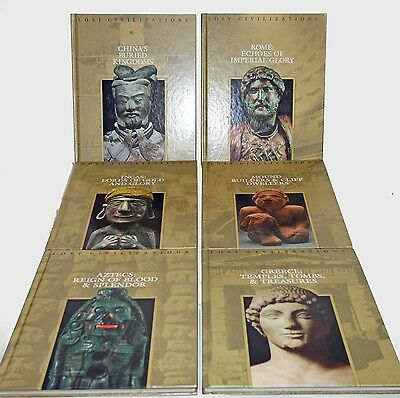Time Life Lost Civilization Books Lot - Collection of 6