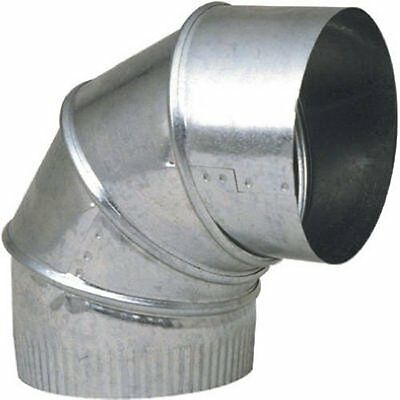 "Imperial GV0286-C ADJUSTABLE STOVE PIPE ELBOW 90 DEGREE 4"" GALVANIZED 30GA THICK"