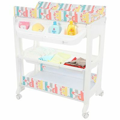 MyChild Peachy Changing Station Zoo With Bath - From 6 Months To 15kg