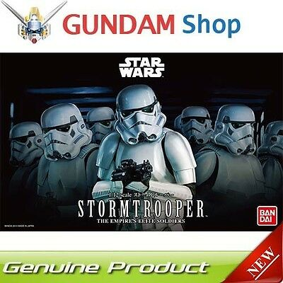 BANDAI Star Wars 1/12 Stormtrooper No. 194379 JAPAN