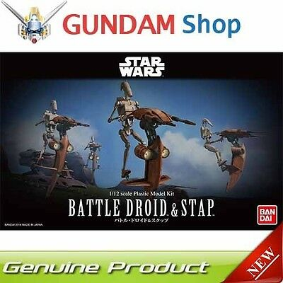 BANDAI Star Wars 1/12 Battle Droid & Stap No. 207575 JAPAN