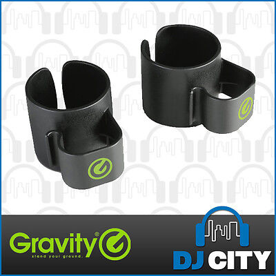 Gravity GSACC35B Speaker Stand Cable Clip 35mm Clips Cable Channels - NEW