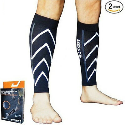 1Pair Calf Support Compression Leg Sleeve Sports Shin Splint Outdoor Exercise