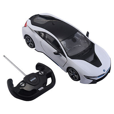 1 14 Bmw I8 Licensed Remote Control Rc Car Opening Vertical Door