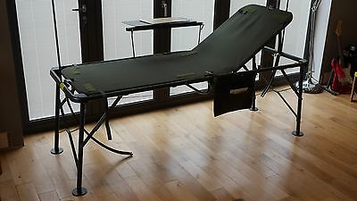 MOD Military, Army Field Hospital, Medic, Adjustable Fold-up Camp Bed.