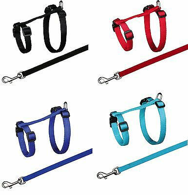 Large Cat Harness with Leash Lead Fully Adjustable with Snap Buckles XL