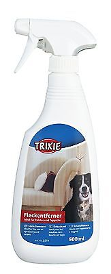 Pet Dog Cat Cleaning Spray Stain Remover for Urine Feces Carpet Upholstery 500ml