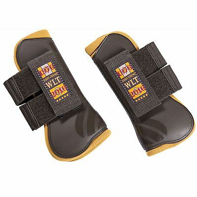 Equi-Theme ?Csi 5* Wlt? Open Front Tendon Boots Brown