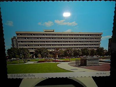 U. S. Federal Office Building ~ Indianapolis, Indiana ~~  Postcard