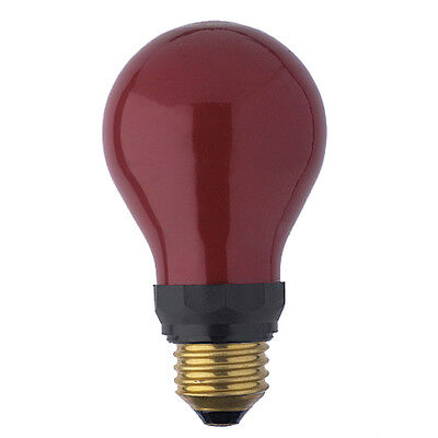 PF712E 15w Darkroom Red Safe Safelight 240v E27 ES Bulb Lamp PF712E ES Red Safe