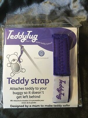 TEDDY TUG BUGGY STRAP Toy Strap Baby Toddler Travel - Prince Lionheart