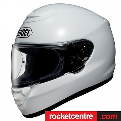 Shoei Qwest Motorcycle Helmet Touring White Motorbike Aim+ Quiet Protect