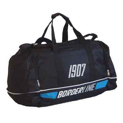 Mens Boys Borderline Holdall Sports Gym Cabin Hand Luggage Travel Weekend Bag
